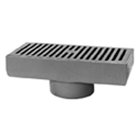 "Z576 7"" X 15"" Medium-Duty Gutter Drain"