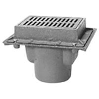 "Z585 6"" X 9"" Medium-Duty Hinged Drain"