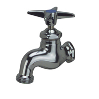 Wall-Mounted Single Sink Faucet.