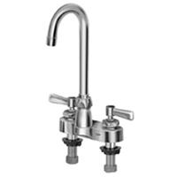 "Z812A1-XL - AquaSpec®, Centerset, 3-1/2"" Gooseneck Faucet with Lever Handles (Lead Free)"