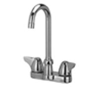 "AquaSpec® centerset 3-1/2"" gooseneck faucet with dome lever handles"