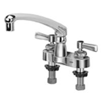 "AquaSpec® 4"" centerset with 8"" cast spout and lever handles"