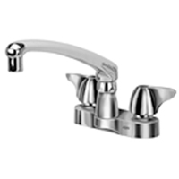 "Z812G3-XL -  AquaSpec® centerset 8"" cast spout with dome lever handles"