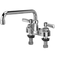 "Z812H1-XL - AquaSpec® centerset 12"" tubular spout with lever handles"