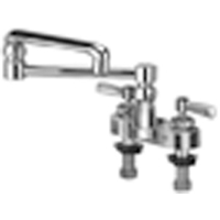 "Z812K1-XL - AquaSpec® centerset with 13"" double-jointed spout and lever handles"