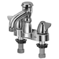 "AquaSpec® centerset 6"" vacuum breaker spout with dome lever handles"
