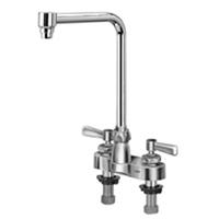 """Z812S1-XL - AquaSpec® centerset 8"""" bent riser spout with lever handles"""