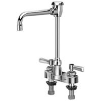 """Z812U1-XL - AquaSpec® centerset 6"""" hi-rise vacuum breaker spout with lever handles"""