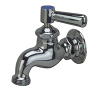 AquaSpec® wall-mount single sink faucet with lever handle