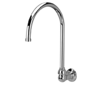 "Z821C0-XL-FC-WM - AquaSpec® wall-mount 8"" gooseneck spout with flow control"