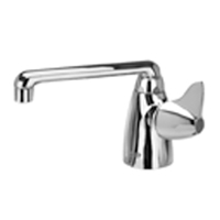 "Z825F3-XL - AquaSpec® single-control lab faucet with 6"" cast iron spout and dome lever handle"