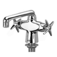 "Z826F2-XL - AquaSpec® lab faucet with 6"" spout and cross handles"