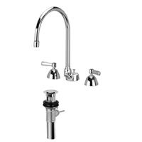 AquaSpec® widespread faucet with 8