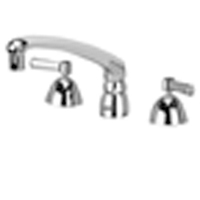 "Z831G1-XL - AquaSpec® widespread faucet with 8"" cast spout and lever handles"