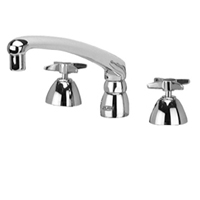 "Z831G2-XL - AquaSpec® widespread faucet with 8"" cast spout and cross handles"