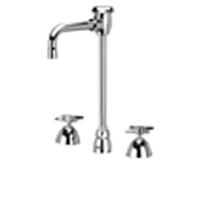 """Z831T2-XL - AquaSpec® widespread faucet with 4-1/2"""" vacuum breaker spout and cross handles"""