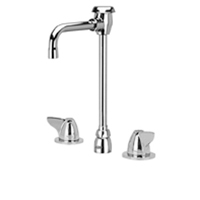 AquaSpec® widespread faucet with 4-1/2