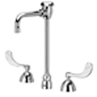 "Z831T4-XL - AquaSpec® widespread faucet with 4-1/2"" vacuum breaker spout and 4"" wrist blade handles"