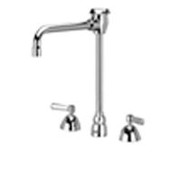 """Z831U1-XL - AquaSpec® widespread faucet with 6"""" vacuum breaker spout and lever handles"""