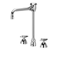 """Z831U2-XL - AquaSpec® widespread faucet with 6"""" vacuum breaker spout and cross handles"""