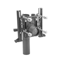 Adjustable Vertical Siphon Jet 500 lb. No-Hub Water Closet Carrier with Heavy-Duty Rear Anchor Tie Down