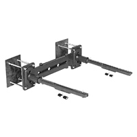 Z1253 - Adjustable Concealed Arm System Wall Supported