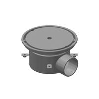 """12"""" Diameter Side Outlet Industrial Floor Drain"""