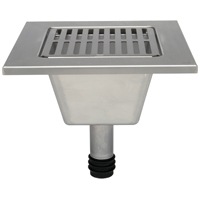 """Z1900-RL 12"""" x 12"""" x 6"""" Replacement Floor Sink Liner"""