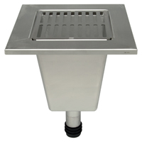 """Z1902-RL 12"""" x 12"""" x 10"""" Replacement Floor Sink Liner"""