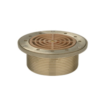 """Z400M """"Type M"""" Round Strainer with Slotted Openings and """"Sur-Set"""" Bucket"""