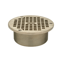 "Z400B ""Type B"" Round Strainer with Square Openings"