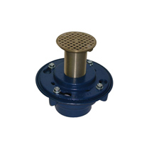 Z420 Deep Shank Floor and Shower Drain for Marble and Granite Applications