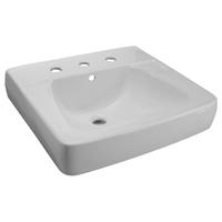 Zurn Z5111 Countertop Lavatory Single Hole 20 x 17