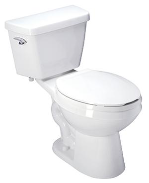 High Performance, 1.6 GPF, ADA, Elongated, Siphon Jet Toilet