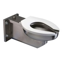 Extra Heavy-Duty Stainless Steel Wall Hung Toilet