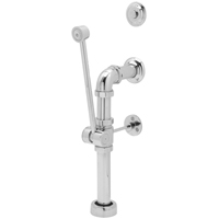 Concealed Flush Valve with Bedpan Washer for Water Closets