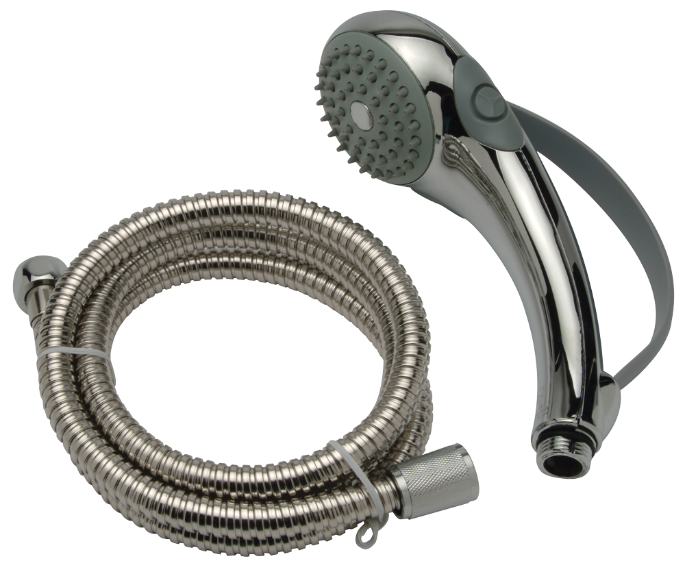 Z7000-H10 Water Saver Hand-held Shower Head, 2.0 GPM