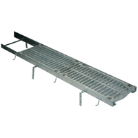 Frame and Grate System with Galvanized Steel Frame