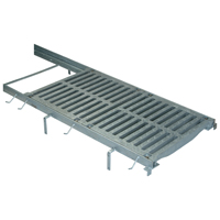 Z723-HDG Frame and Grate System with Galvanized Steel Frame