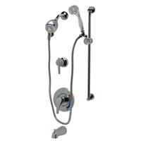 Z7302-SS-MT-DV2P-HW-H7-S8 Temp-Gard® III Tub and Shower Unit