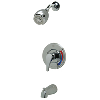 Z7302-SS-MT-S9 Temp-Gard® III Tub and Shower Unit