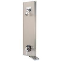 Aqua-Panel® Institutional Corner Shower Unit