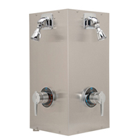 Institutional Shower Unit, Two Person Station
