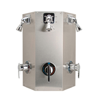 Z7500-W3 Temp-Gard® Institutional 3-person Shower