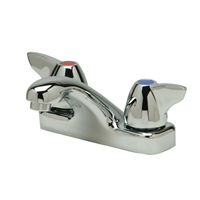 """Z81103-XL - AquaSpec® 4"""" Centerset, Deck-Mount, Lavatory Faucet with Dome Lever Handles (Lead Free)"""
