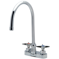 "Z812C2-XL - AquaSpec® centerset 8"" gooseneck faucet with cross handles"
