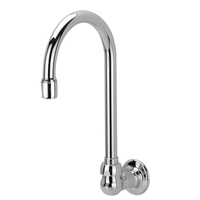 "Z821B0-XL-WM - AquaSpec® wall-mount 5-3/8"" gooseneck spout"