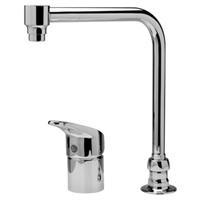 AquaSpec® single-control bent riser faucet
