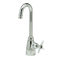 "Z825A2-XL -  AquaSpec® single-control lab faucet with 3-1/2"" gooseneck and cross handle"