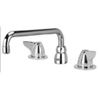 AquaSpec® widespread faucet with 12